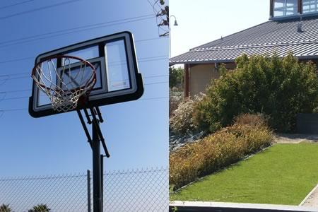 View Basketball & Horseshoes