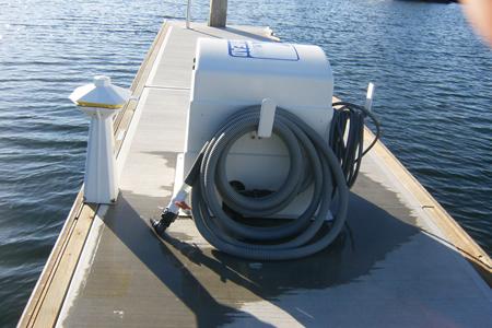 View Vessel Pump Out